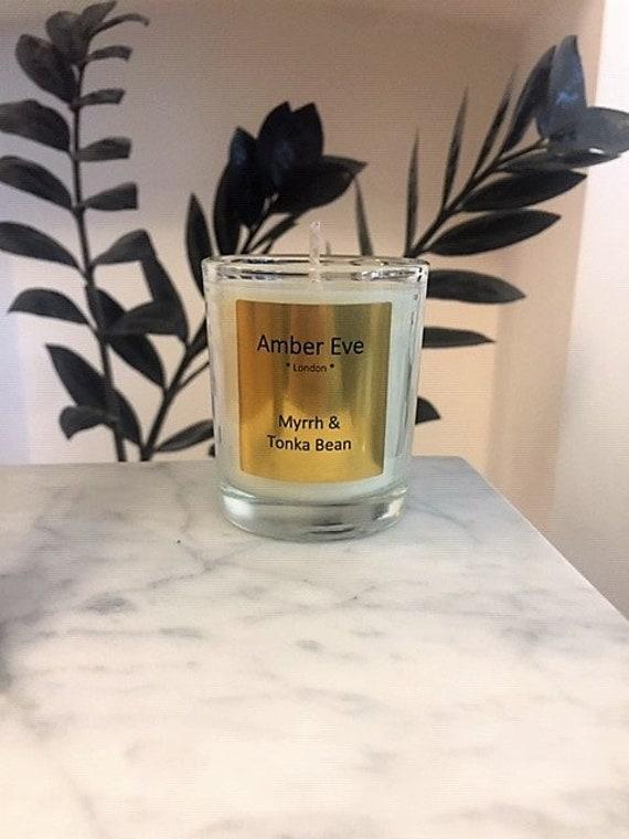 Myrrh & Tonka Bean Small Scented Candle