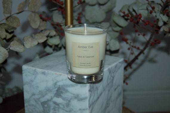 Cassis & Tuberose Scented Candle