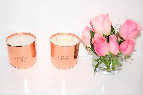 Black Pomegranate Copper Luxury Candle
