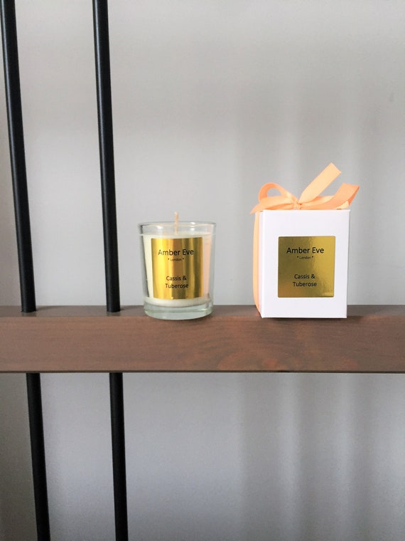 Cassis & Tuberose Small Scented Candle