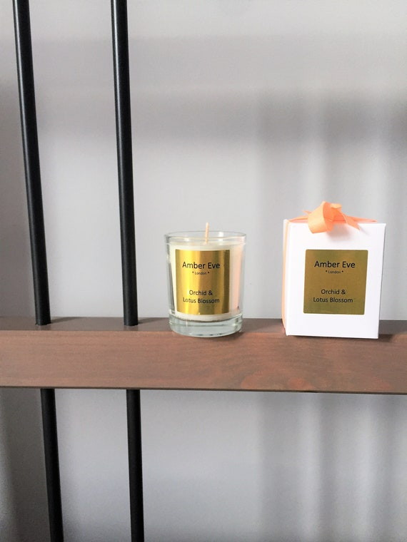 Orchid & Lotus Blossom Small Scented Candle