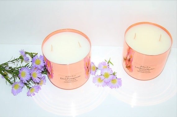 Pear & Freesia Copper Luxury Candle