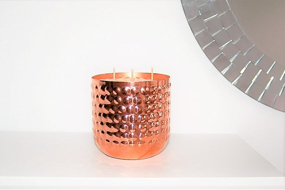 Black Pomegranate Copper Luxury Candle