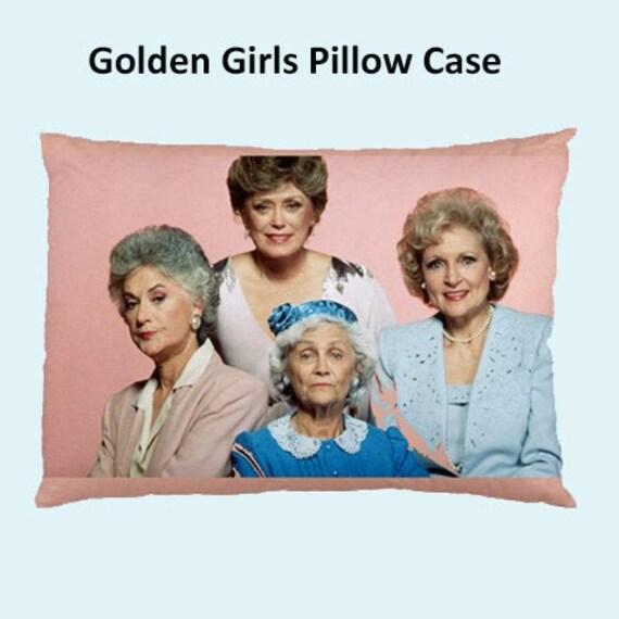 bedding pillow eighties bedrrom 80s cult tv Golden Girls Cushion Case golden girls tv shows