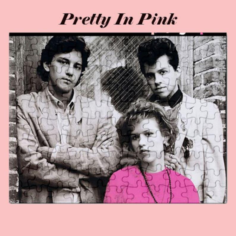 Pretty in Pink 80s Movie Jigsaw