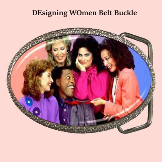 Designing Women bet buckle, belt, fun, fashion, accessories, gifts, 80s,  80s cult tv shows, Designing WOmen