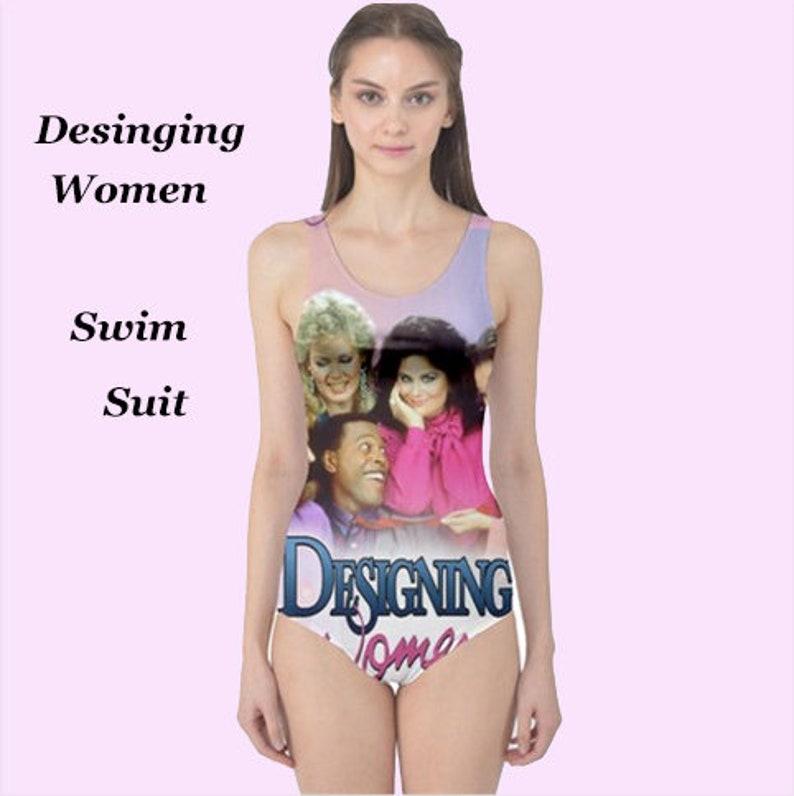 c2438209d3068 Designing Women swim suit, beachwear, beach, Designing Women, tv, cult,  80s, retro, cult tv, eighties