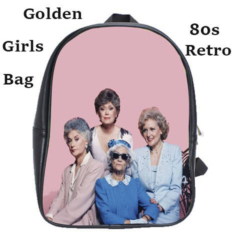 9161c52b8c7e Golden Girls School bag, tv , school, 80s, cult, 80stv , university,  fashion, backpack, teens, school