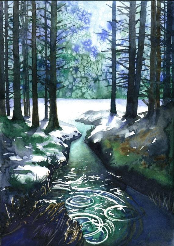Rivière argenté
