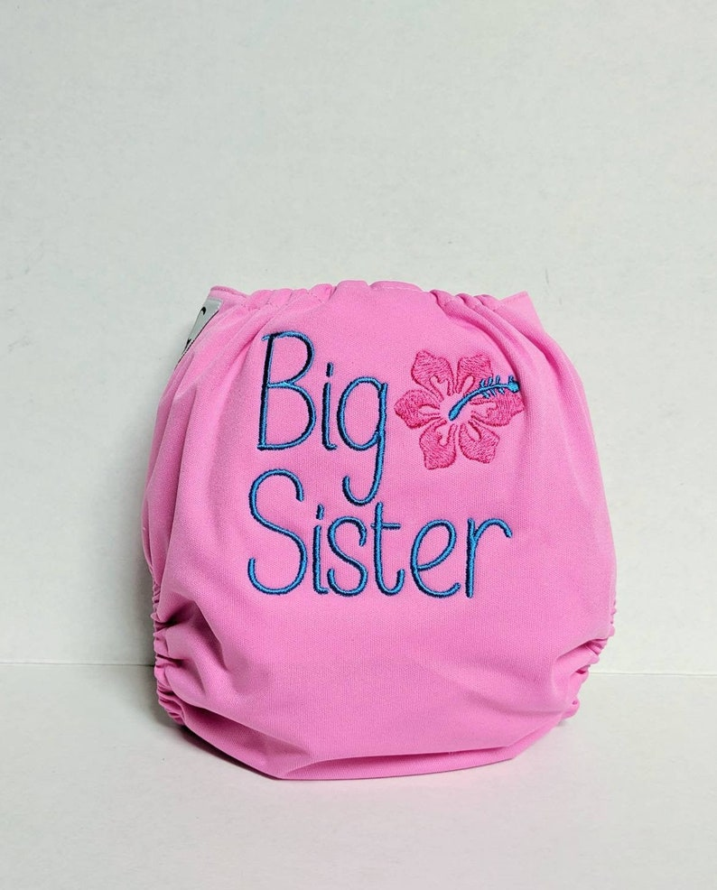 Customize your Own Embroidery Pocket Diaper