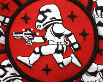 Dark Side Patch - Blaster Red