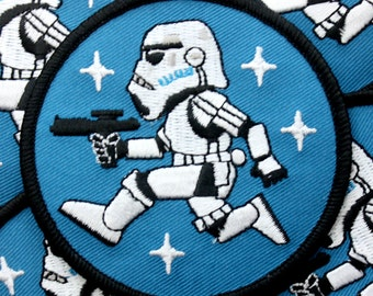 Dark Side Patch - Pew Blue