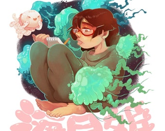Princess Jellyfish - Print