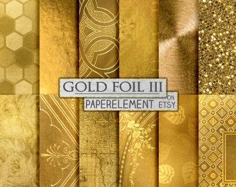 Golden Patterns: Shiny Gold Backgrounds, Gold Maps, Gold Leaves, Gold Flowers, Ornate Gold Designs, Gold Glitter, Gold Metal, Golden Books