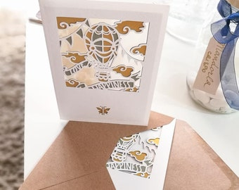 Greeting Card-Love & Happiness