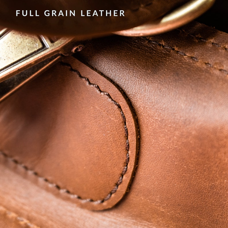 Unisex Cabin Bag by MAHI Travel Bag Handmade Full Grain Leather Weekend Bag Compact Leather Holdall Personalized Overnight Bag