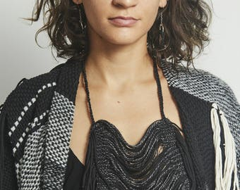 Hand woven necklace