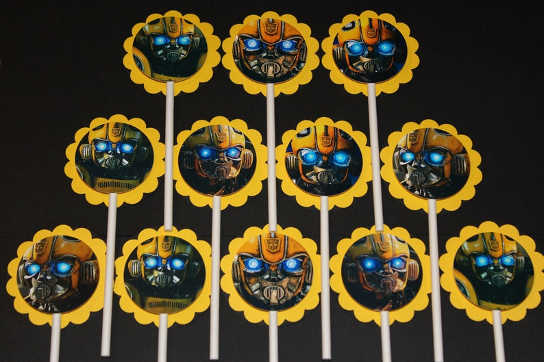 BumbleBee Cupcake Toppers 12 count Cake Toppers ...