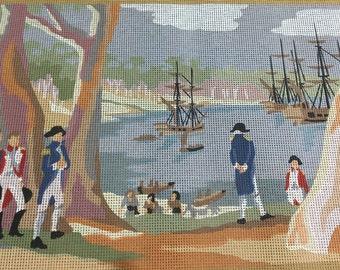First Fleet tapestry