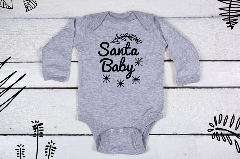 baby christmas,cute baby christmas outfit,colourful bodie bodiesuit Santa Baby Santa baby Baby Chrsitmas Chrristmas gift