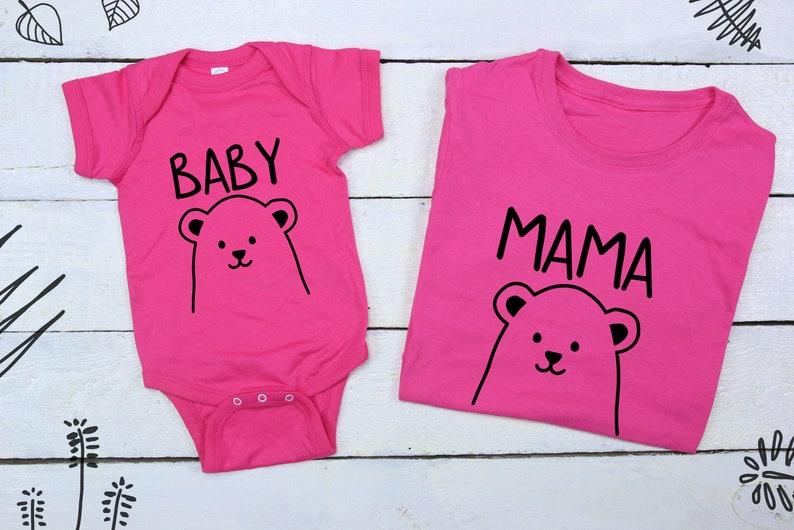 Mama Bear Shirt Baby Bear Coming Home Outfit Baby Bear Outfit Etsy