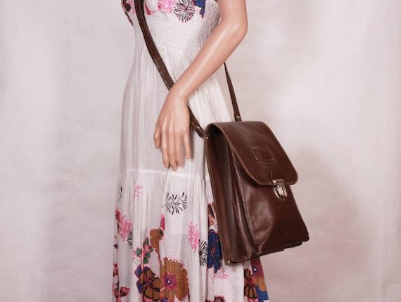 Vintage brown leather bag Postman bag Conductor bag Old   Etsy 25ae7633b3