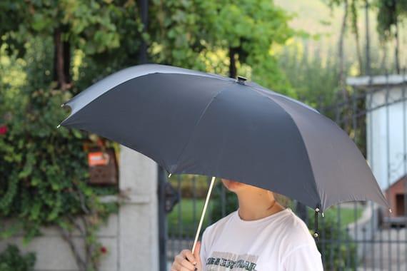 Luxury umbrella, Vintage black umbrella, Erdo umb… - image 2