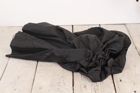 Luxury umbrella, Vintage black umbrella, Erdo umb… - image 8
