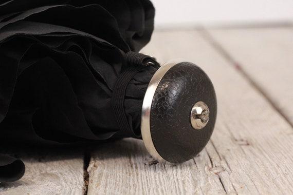 Luxury umbrella, Vintage black umbrella, Erdo umb… - image 10