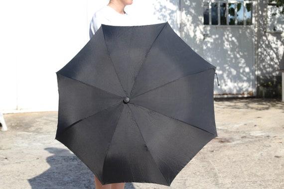 Luxury umbrella, Vintage black umbrella, Erdo umb… - image 4