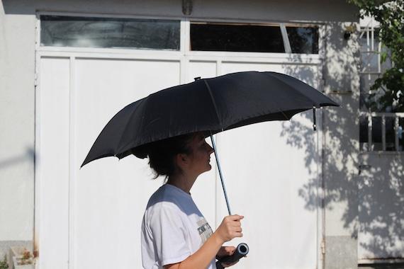 Luxury umbrella, Vintage black umbrella, Erdo umb… - image 5