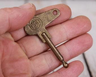 CZ 350 key, PAL key, Motorcycle power key, Bronze key, Czech motorcycle part, Power On key, Power on key motorcycle, Vintage key, Gift idea