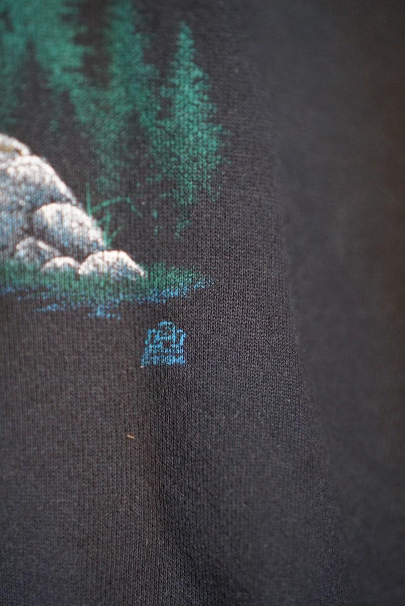 90/'s Tultex Wolves Sweatshirt XL