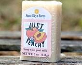 Peach Goat Milk Soap - Ju...