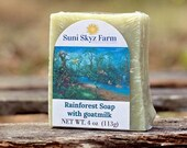 Rainforest Goat Milk Soap...