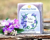 Lilac Goat Milk Soap - Li...