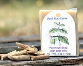 Patchouli Goat Milk Soap ...