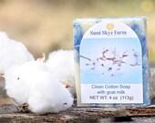 Clean Cotton Goat Milk So...