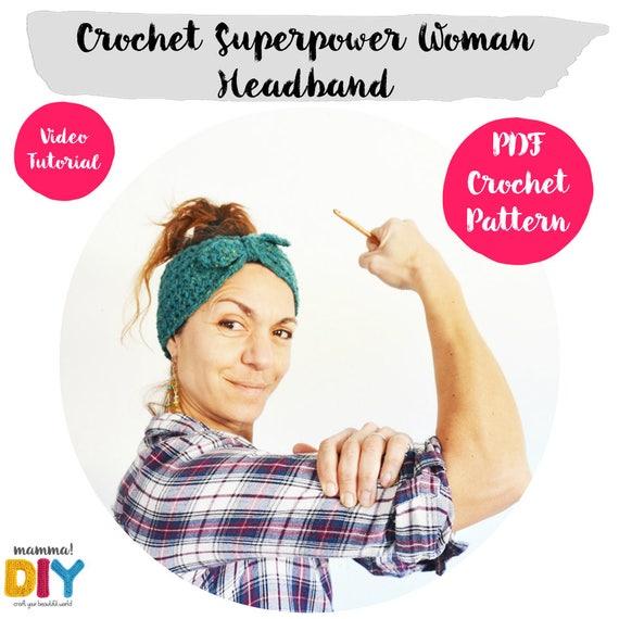 Patrón Ganchillo Crochet Tutorial Paso a Paso Turbante Mujer | Etsy