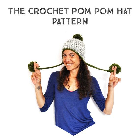 Patron Crochet Gorro Peruano con Pompones tutorial paso a | Etsy