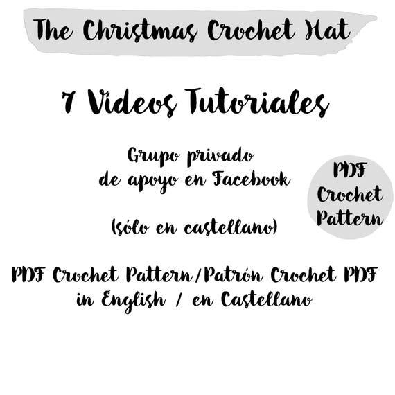 Crochet Pattern Christmas Star Fair Isle Slouchy Beanie Hat | Etsy