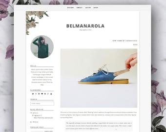 Premade Blogger Template - Belmanarola
