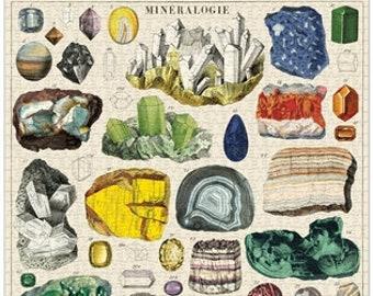 Mineralogy Puzzle   1000 Piece Puzzle   Mineral Puzzle   Jigsaw Puzzle   Gemstone Puzzle   Puzzle for Adults   1000 Pieces Puzzle Box   Rock