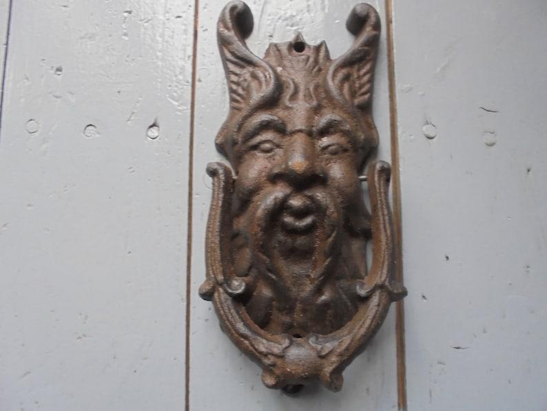 French Antique Door Knocker Cast Iron Door Knocker/decorative Door  Knocker/victorian Door Knocker