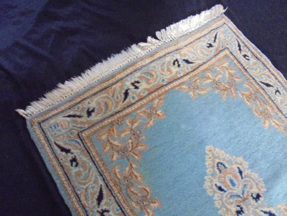 Blauw Perzisch Tapijt : ≥ prachtig perzisch blauw tapijt vloerkleed stoffering