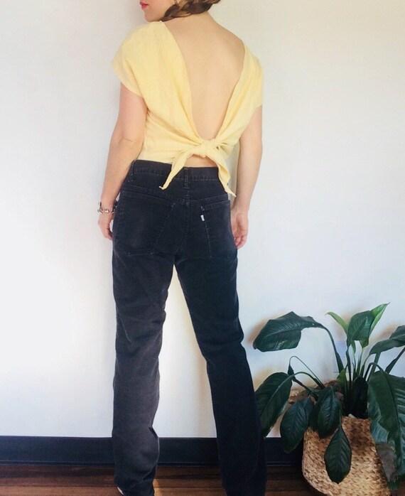 Vintage levi corduroy pants Vintage high waisted p