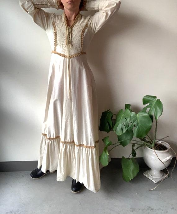 Gunne sax dress 70s Gunne Sax dress Renaissance G… - image 7