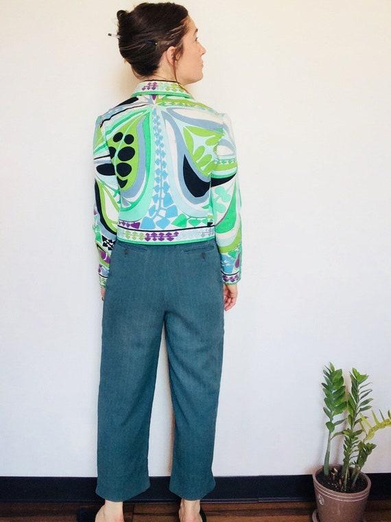 Vintage Emilio Pucci jacket Pucci Cropped jacket 6