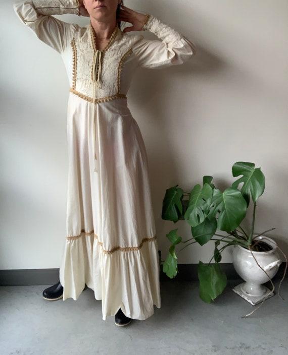 Gunne sax dress 70s Gunne Sax dress Renaissance G… - image 6