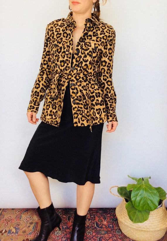 Animal print jacket animal print coat cheetah prin